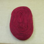 Solid Thin Pre-yarn-cherry