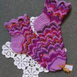 Handknitted Lace Socks