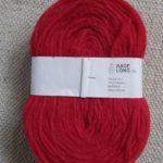 Solid Thin Pre-yarn - red