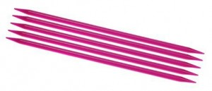 Flair acrylics double pointed needles