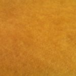 Carded wool - yellow