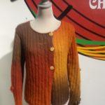 Pre-yarn jacket