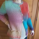 Handmade Colorful cardigan