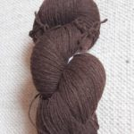 Undyed brown yarn 8/3