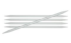 KnitPro Basix Aluminium sukavardad - 20 cm