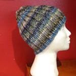 Knitted hat for men