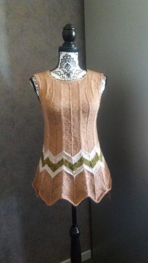 Knitted summertop
