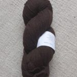Undyed brown yarn 8/2