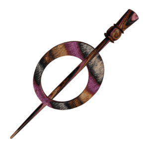 Shawl Pin - Omega Lilac