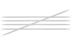 KnitPro Basix Aluminium sukavardad – 15 cm